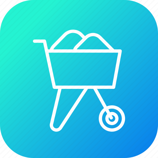 Agriculture, buggy, garden, tool, wheelbarrow icon - Download on Iconfinder