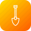 digging, equipment, machine, showel, tool icon