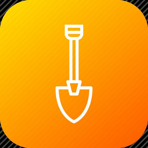 digging, equipment, machine, showel, tool icon