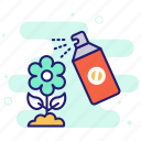 pesticide, plants, spray, repellent, insects icon