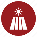 agriculture, down, set, sun icon