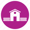 agriculture, building, home, house, hut, lodge icon