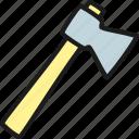 axe, garden, gardening, nature, plant, tool, water