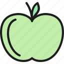apple, fruit, garden, gardening, plant, tool, water icon