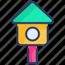 bird, birdhouse, box, hanging, house, nesting, pet icon