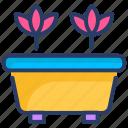 flower, gardening, home, plant, pot icon