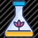 dna, food, free, gmo, plant, test, tube icon