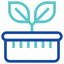 agriculture, farming, garden, gardening, nature, plant, sprout icon