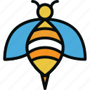 animal, bee, bug, fly, healthy, honey, insect icon