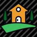 barn, building, chalet, farm, home, house, hut