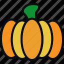 cooking, empty, food, halloween, orange pumpkin, pumpkin, vegetable icon