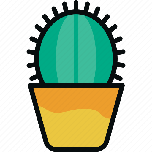 Cactus, desert, nature, plant, potted, succulent, west icon - Download on Iconfinder
