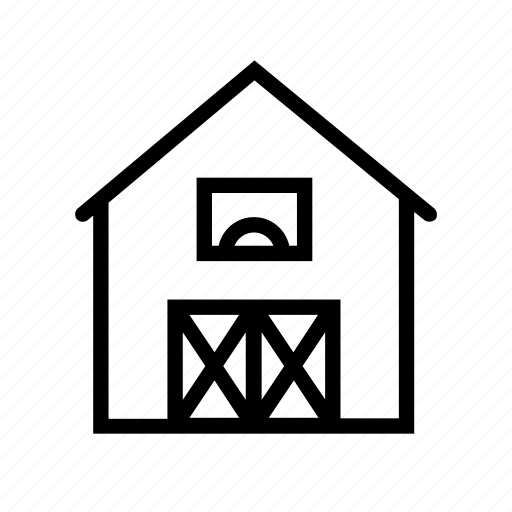 agriculture, barn, building, farm, ranch icon