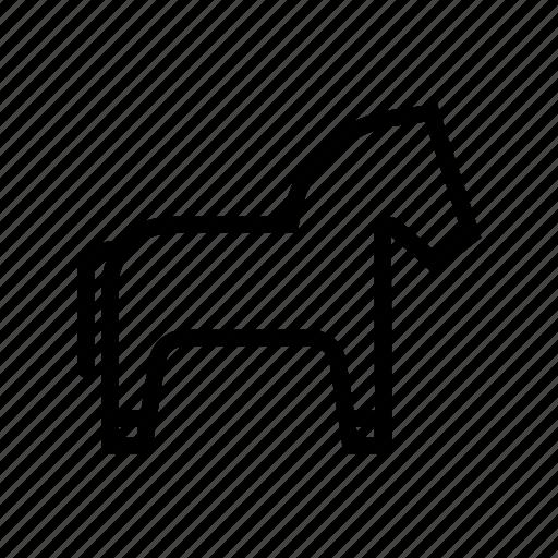 agriculture, animal, farm, farming, horse, ranch icon