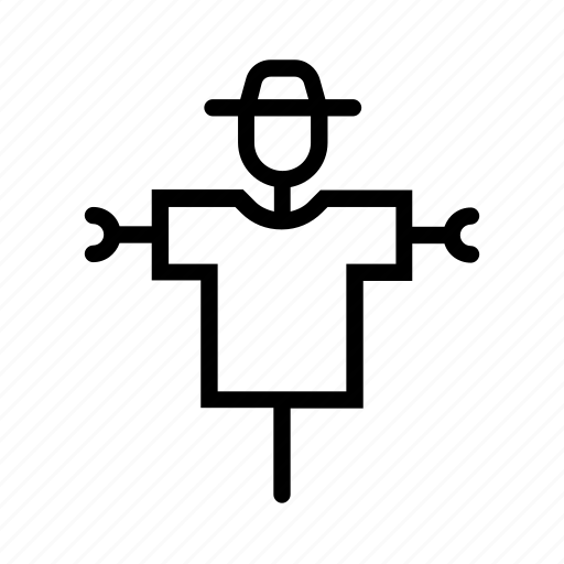 agriculture, farm, farming, field, fright, scarecrow icon