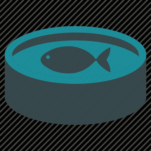 farm, fish, fishing, fresh, pool, reservoir, water icon
