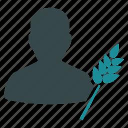 agriculture, business, farm, farming, nature, plant, user icon