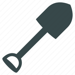 agriculture, dig, equipment, gardening, shovel, spade, tool icon