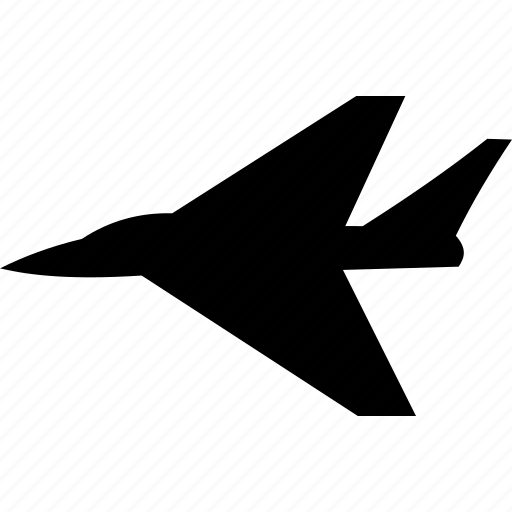 air force, airplane, fighter, flight, intercepter, military, plane icon