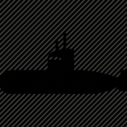 boat, navigation, sea, ship, submarine, under water, underwater icon
