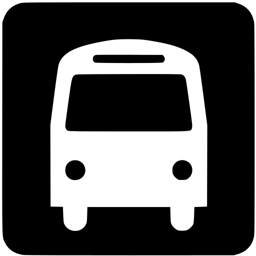 bus, public, transportation icon