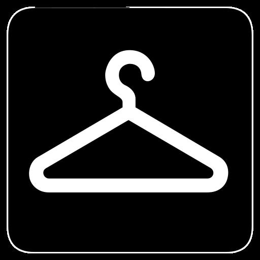 coat, hanger icon