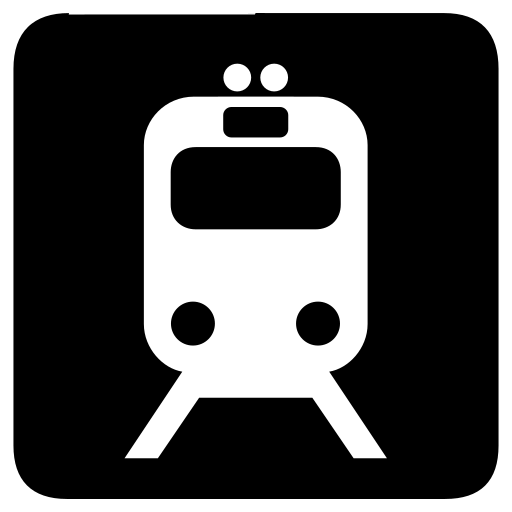 rail, rails, train, transportation icon