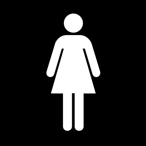 room, toilet, womens icon
