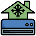 house, temperature, control, air, conditioner, electronics, technology