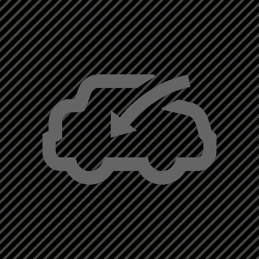 blow, car, inside icon