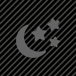 night, sleep icon