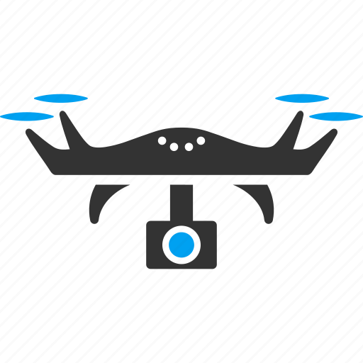 aircraft, camera, gopro, multicopter, quadcopter, spy copter, video icon