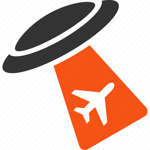 abduct, aircraft, airplane, alien invasion, plane, ufo, visitors icon