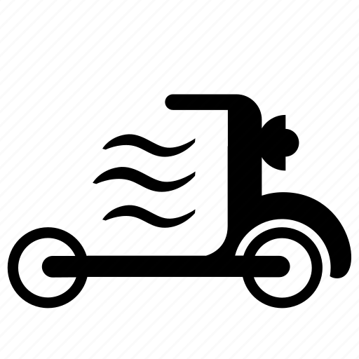 air, city, drive, kick, motion, scooter icon