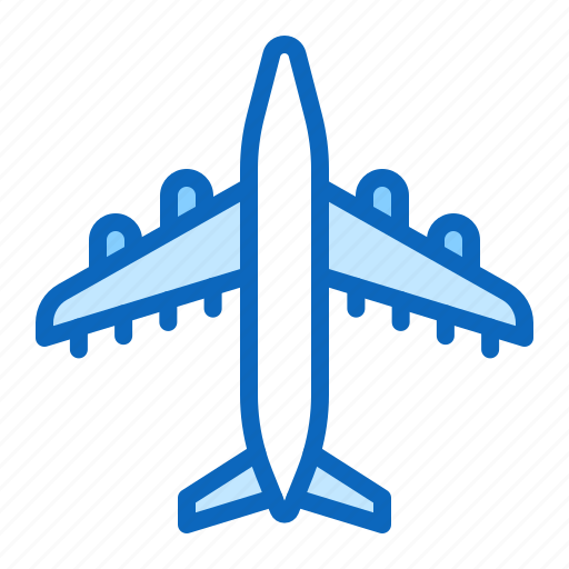 Aircraft Airplane Flight Jet Plane Icon