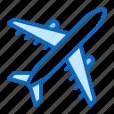 aircraft, airplane, flight, jet, plane
