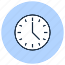 arrival, clock, time icon