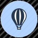 air, balloon, flight, hot