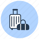 airport, bag, baggage, carryon, luggage, suitcase icon