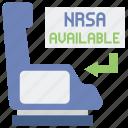 airline, seat, nrsa icon