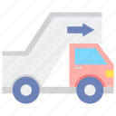 airline, stair, truck icon