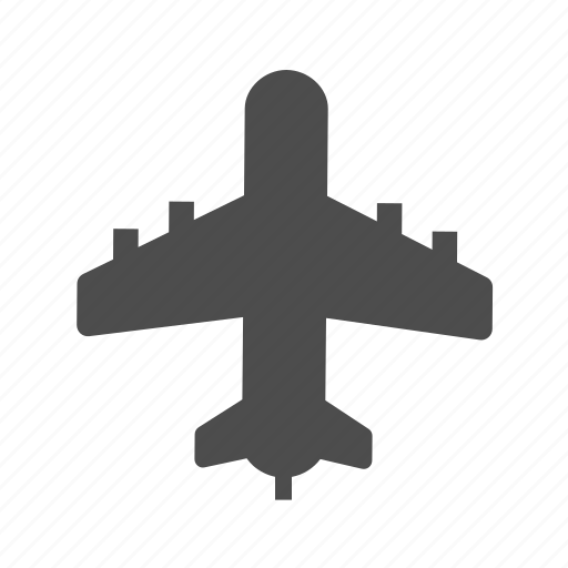 Airplane, airport, business, departure, flight, transportation icon - Download on Iconfinder