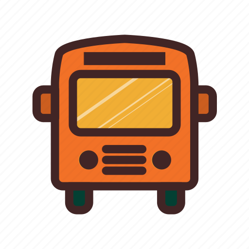 bus, car, service, transportation, vehicle icon