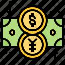 currency, exchange, international, money, rate