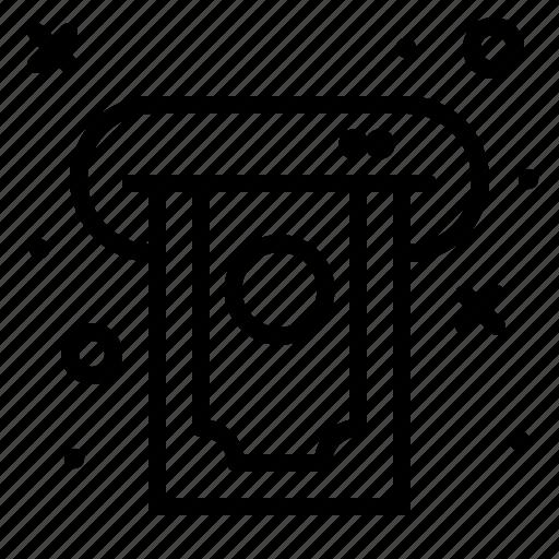 Atm, bank, cash, money icon - Download on Iconfinder
