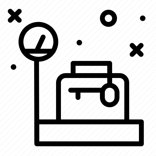Bag, luggage, travel, weight icon - Download on Iconfinder