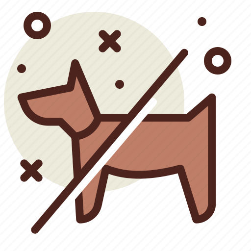 Interdiction, pets, stop icon - Download on Iconfinder