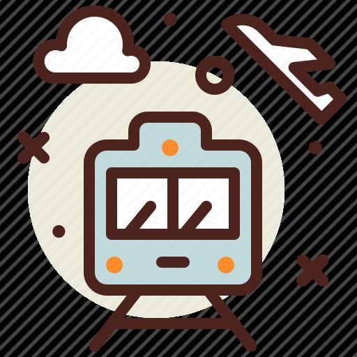 Airplane, airport, flight, metro, plane, transport, travel icon - Download on Iconfinder