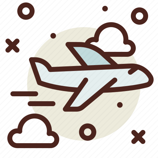 Airplane, airport, flight, plane, travel icon - Download on Iconfinder