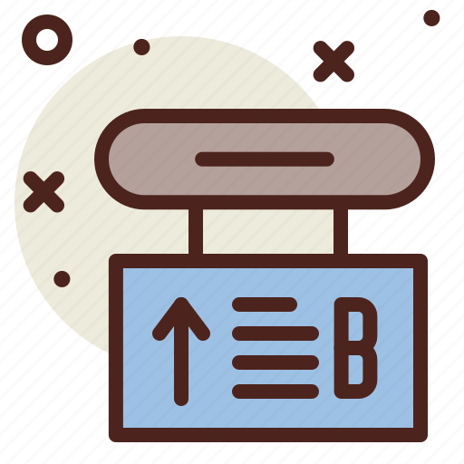 Arrow, direction, sign, terminal icon - Download on Iconfinder